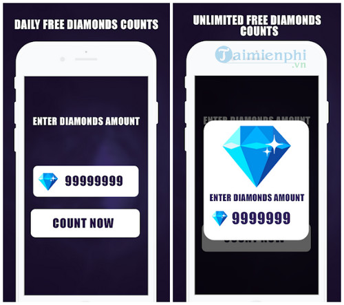 free diamonds counter