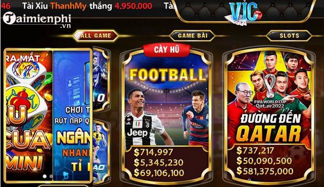 Tải Vic Win cho Android - Game bài đổi thưởng -taimienphi.vn