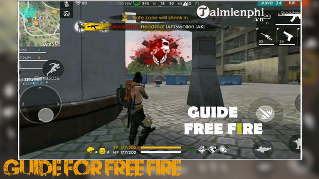 tips for garena free fire