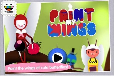 Paint My Wings cho iPhone mien phi