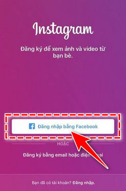 tim kiem ban be tren instagram bang Facebook