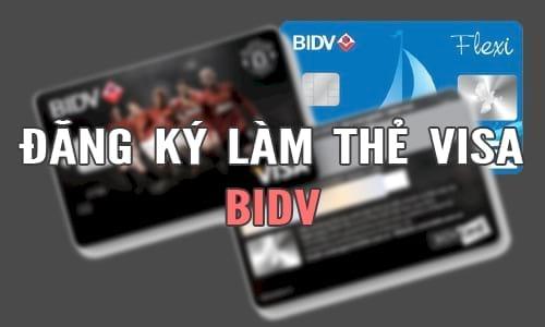 cach lam the visa bidv the tin dung bidv 2