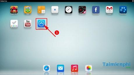 Hướng dẫn sử dụng iPadian trên máy tính, giả lập iOS, chạy app iOS trên Windows 1