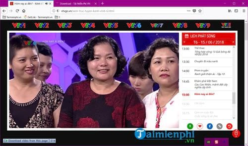 How to watch continuously vtv6 vtv6 hd on computer 2