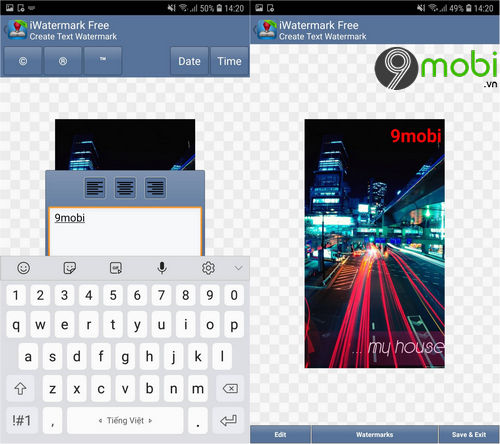 iwatermark for android dong dau ban quyen hinh anh cho smartphone 2