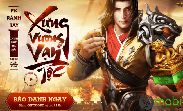 giftcode game van ly chinh do