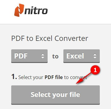 convert pdf to excel and convert pdf files to xls