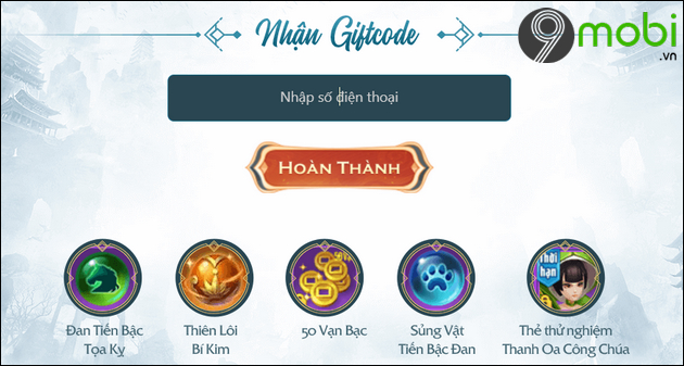 giftcode game nghich thien kiem the