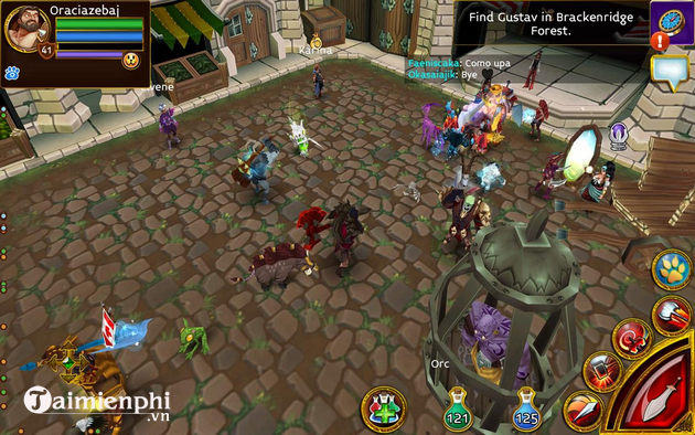top game mmorpg tren android