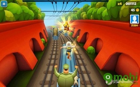 ghi điểm số cao trong game Subway Surfers