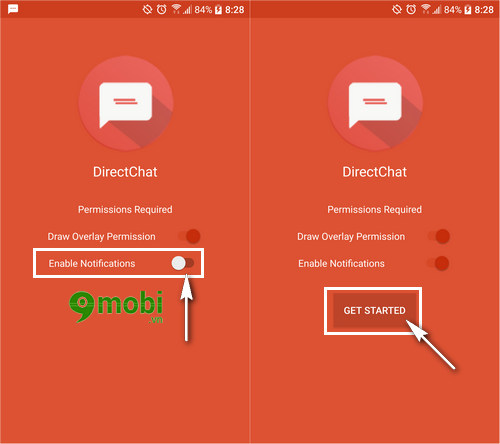 directchat ung dung quan ly tin nhan tren android 2