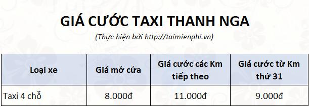 Tổng đài Taxi Thanh Nga, SĐT hotline, 024 38.215.215 1