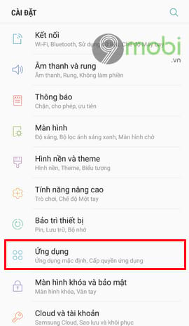 tat ung dung chay ngam tren android