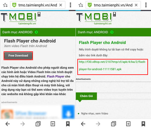 cai dat adobe flash cho android