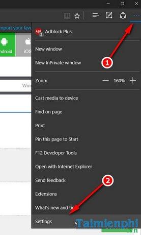 Sửa lỗi màn hình xanh khi mở Microsoft Edge trên Windows 10