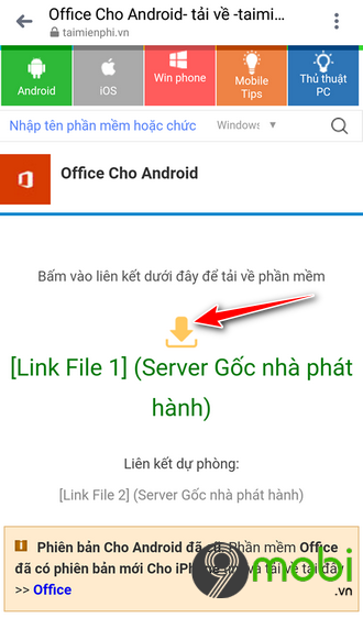 download office cho android