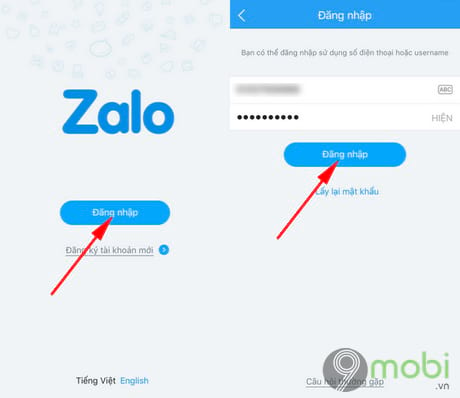 gọi video tren Zalo