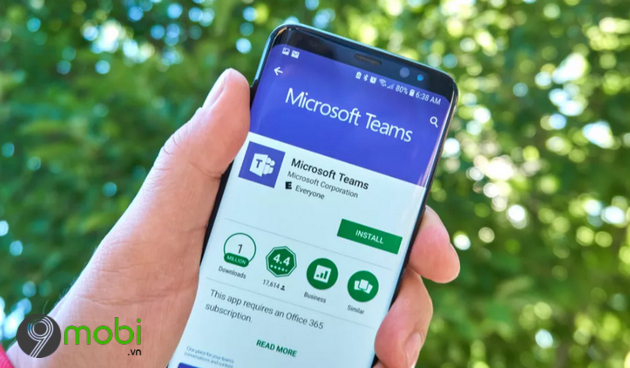 microsoft teams co the theo doi nhieu thong tin cua ban hon ban nghi