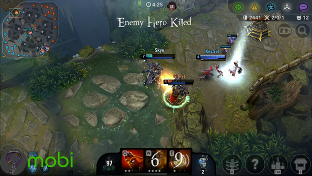 game hanh dong vainglory cho android iphone
