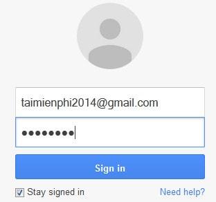 Thay Avatar, ảnh đại diện Gmail
