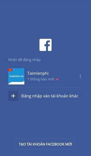 cach doi mat khau facebook tren dien thoai samsung 2