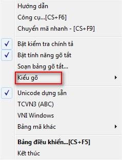 Sửa lỗi không gõ được tiếng Việt trong Word, excel, firefox, chrome 5