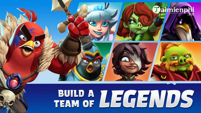 angry birds legends mo beta test cho cac thiet bi android