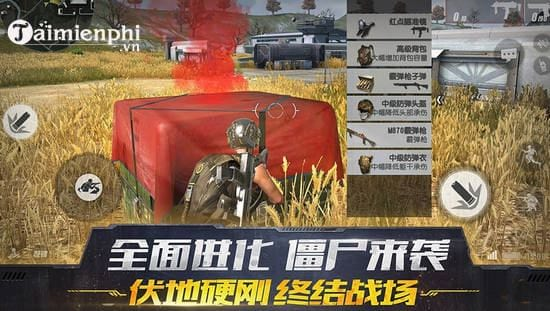 ban cap nhat rules of survival 17 10 them sung rifle dsr 1 2