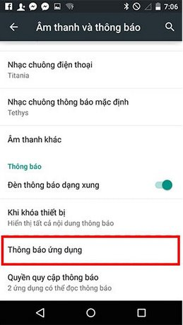 bat thong bao tren android 5.0