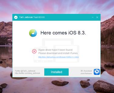 Jaibreak iOS 8.3 bi dung