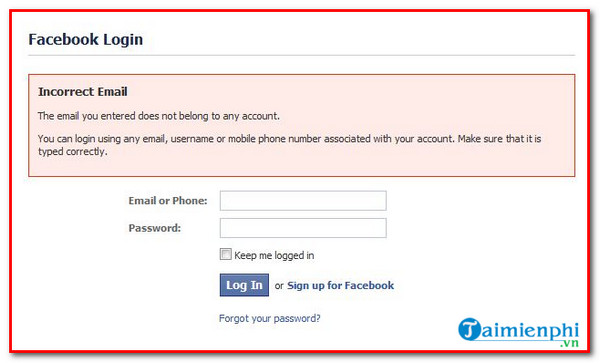 Some problems that you cannot reset to your Facebook account when you are lost