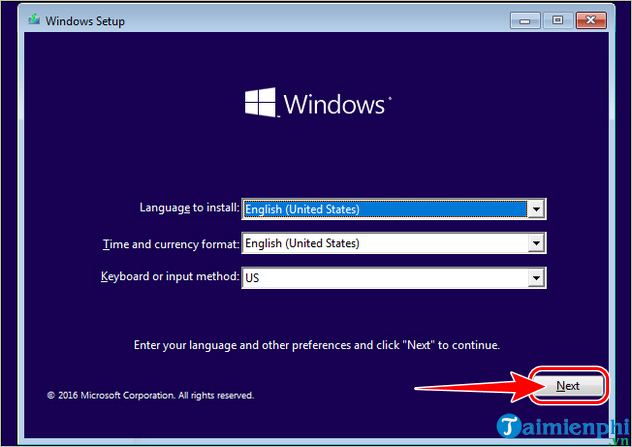 cach cai dat win 11