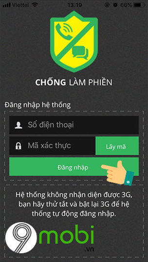 cach chan cuoc goi ngoai danh ba tren iphone cho thue bao viettel 2