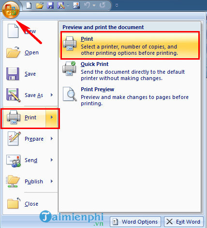 How to convert word to pdf in dopdf
