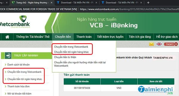 cach chuyen tien ngay tuong lai trong vietcombank 2