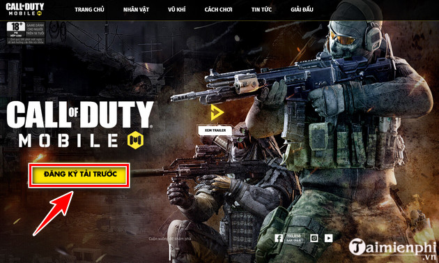 cach dang ky choi call of duty mobile vn 2
