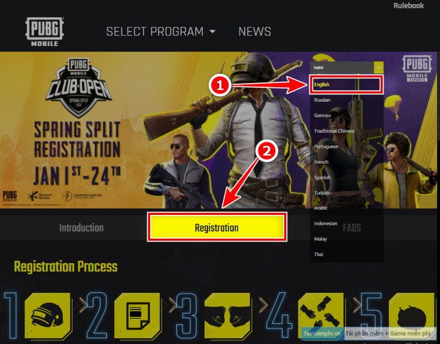how to sign up for pubg mobile club open buy xuan 2021 pmco 2