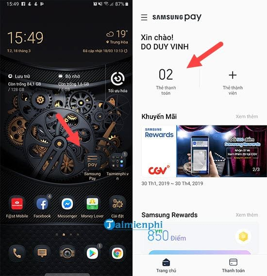 cach dang ky the samsung pay tren galaxy note 9 2