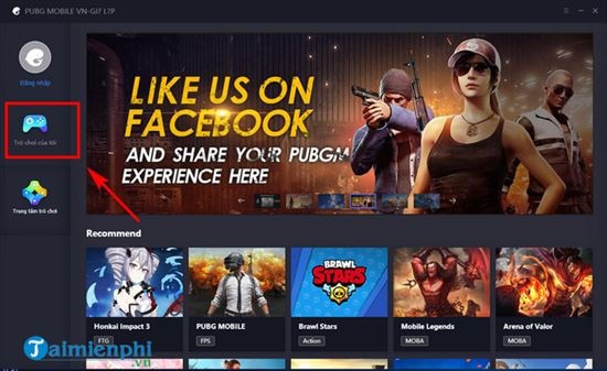 cach go cai dat pubg mobile vng tren tencent gaming buddy 2