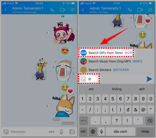 cach gui anh gif tren zalo cho iphone 2