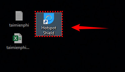 cach kiem tra toc do mang internet bang hotspot shield 2