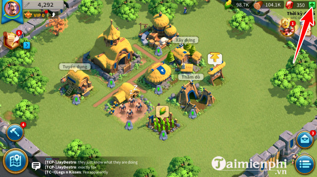 cach nap the game rise of kingdoms 2
