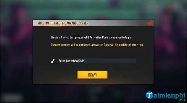 cach nhan ma kich hoat free fire ob30 advance server