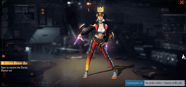 cach nhan goi stereo blaster bundle trong free fire 2