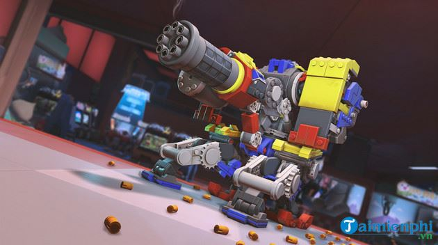 cach nhan mien phi skin lego bastion overwatch 2