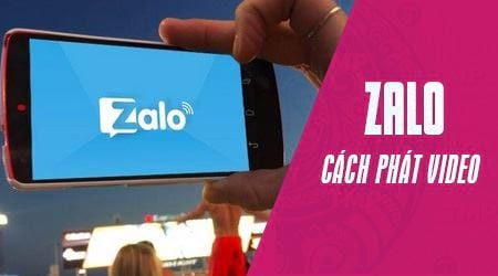cach phat video truc tiep tren zalo cho android
