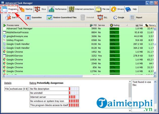 cach su dung advanced task manager 2