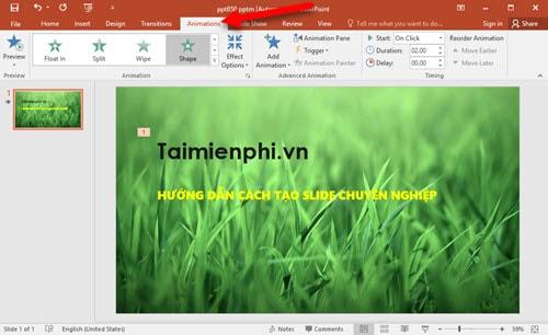 Cách sử dụng PowerPoint, tạo slide thuyết trình chuyên nghiệp 5