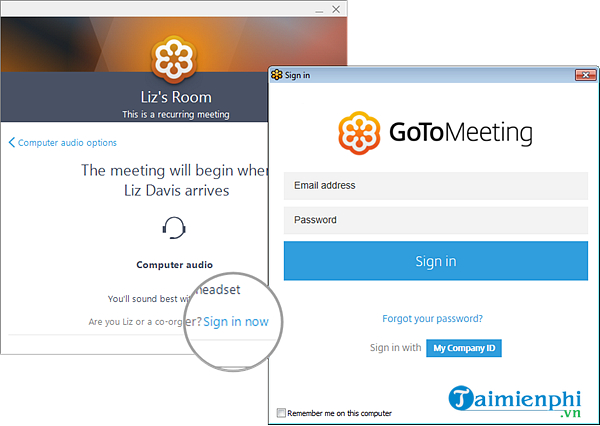 cach su dung ung dung gotomeeting
