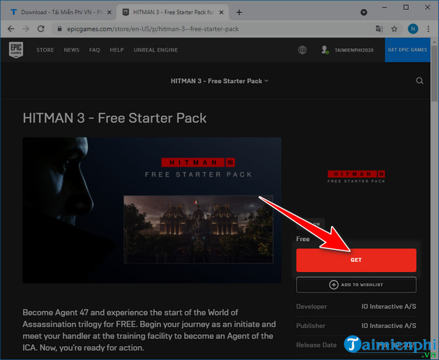 free download hitman 3 access pass